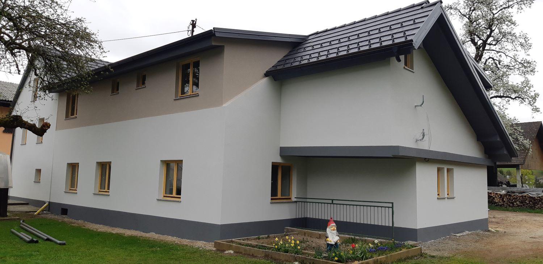 izdelava fasade kamnik stara hiša