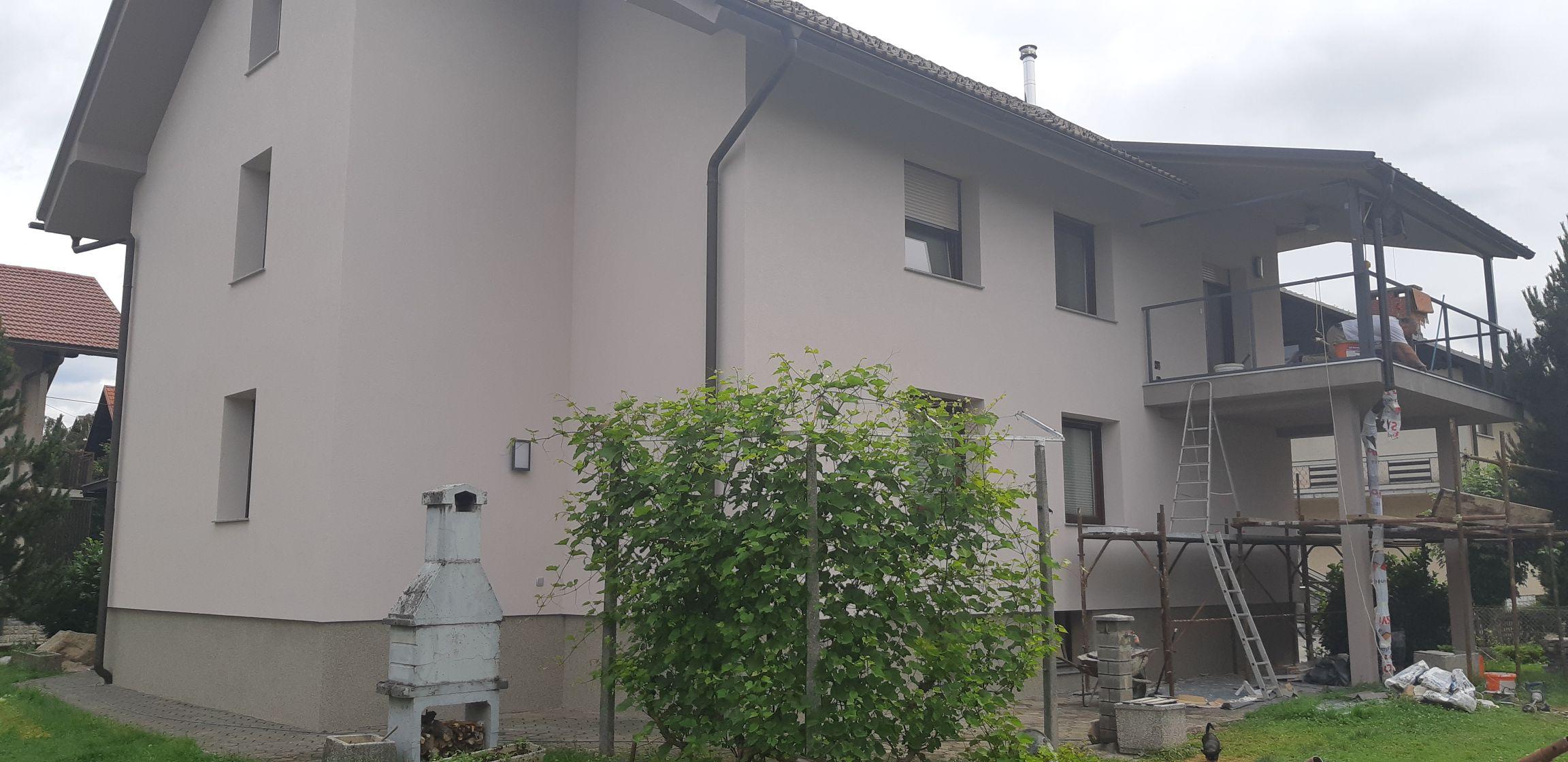Obnova fasade v Kranju