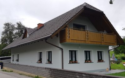 Obnova fasade v Gabrovki pri Litiji