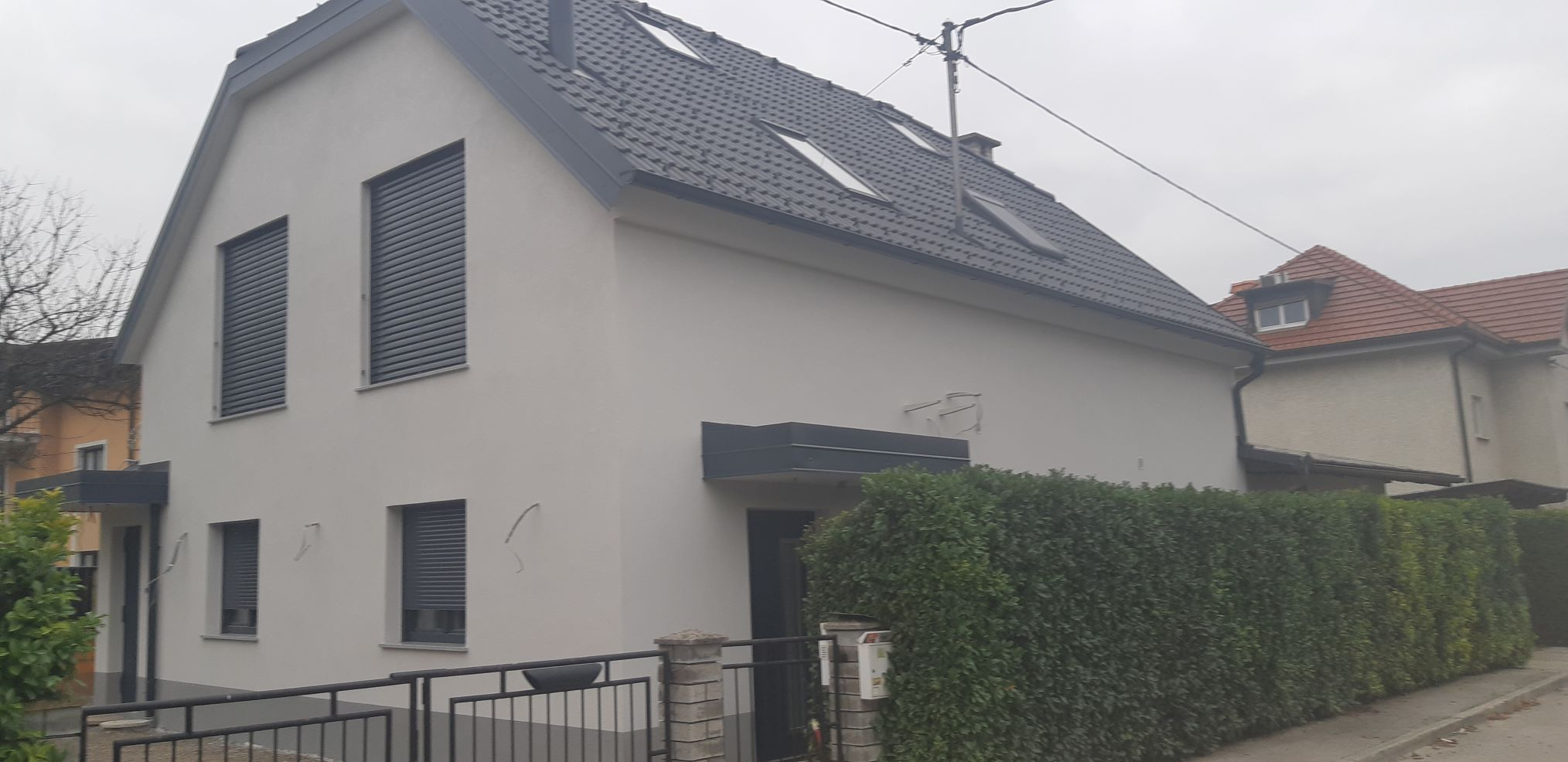 Obnova fasade v Ljubljani z sr